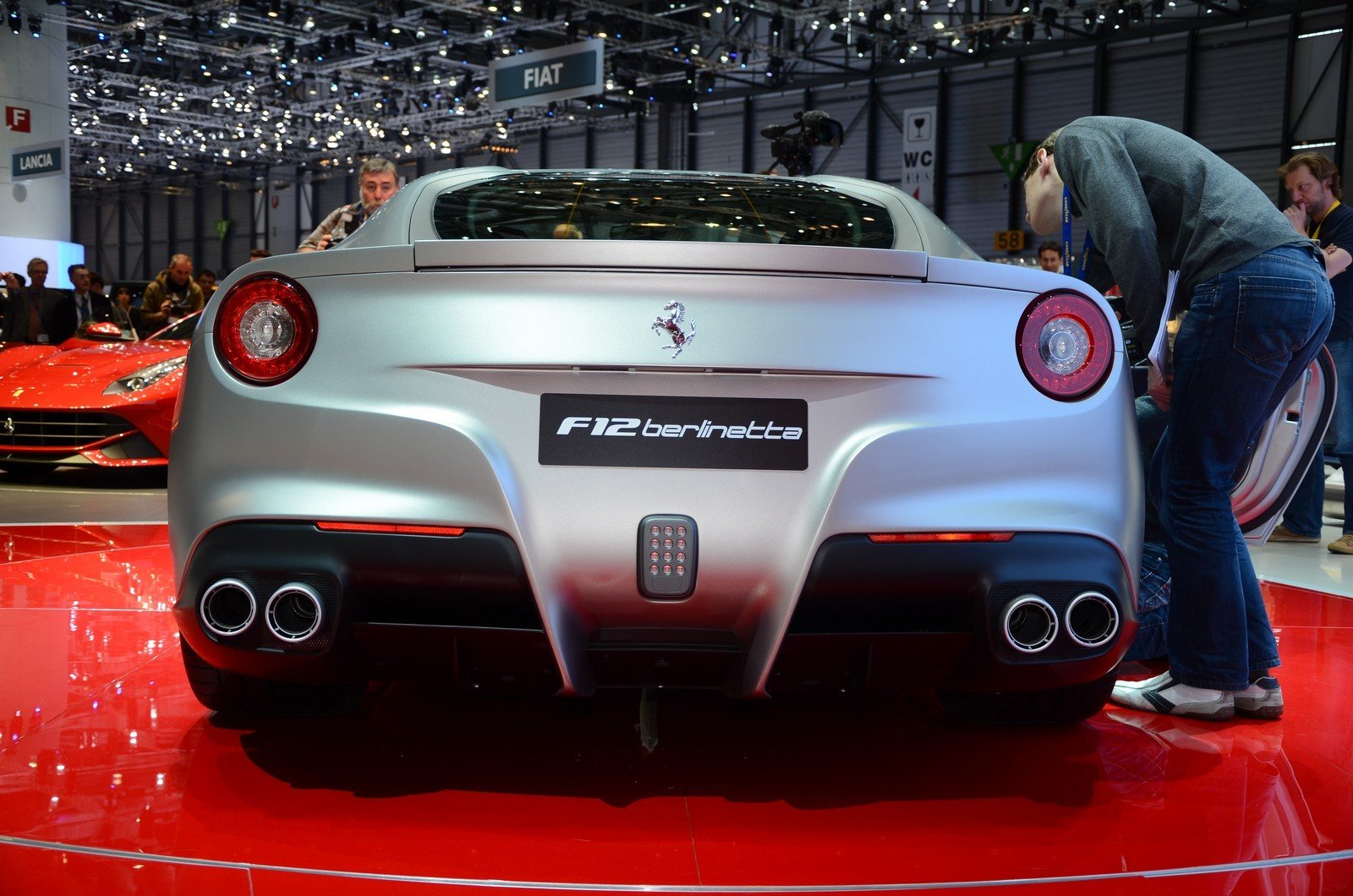 2013 ferrari f12 berlinetta picture 441803 car review top speed. Black Bedroom Furniture Sets. Home Design Ideas