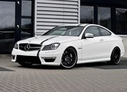 "Mercedes C63 AMG Coupe ""5.7 Edition"" by Wheelsandmore"