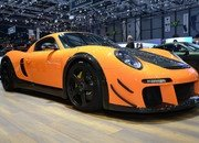 Porsche Cayman CTR3 Clubsport by RUF