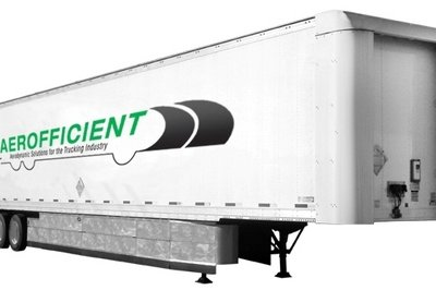 Aerofficient has developed an innovative sliding trailer fairing