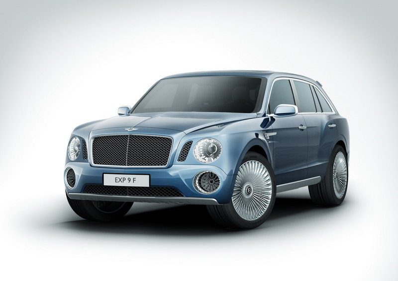 2012 Bentley EXP 9 F High Resolution Exterior - image 440986