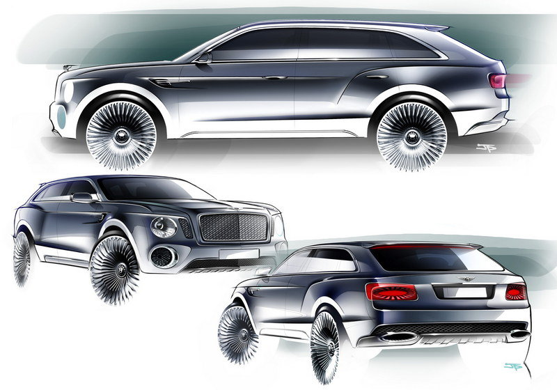 2012 Bentley EXP 9 F Exterior Drawings - image 440985
