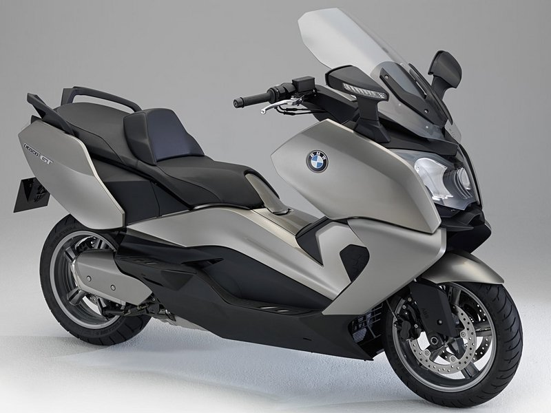 2012 BMW C600 Sport and C650 GT