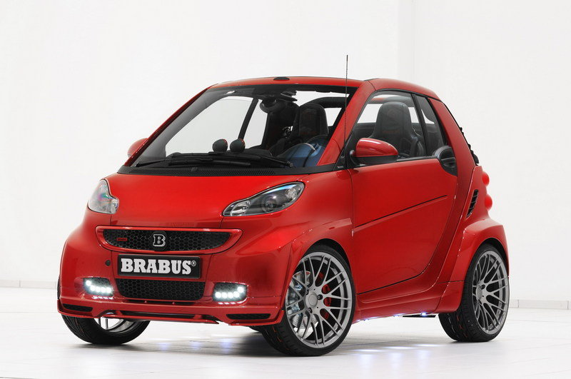 2012 Smart Fortwo Ultimate 120 by Brabus