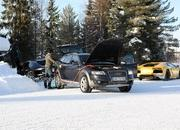 Car crash: Lamborghini Aventador lost it on the snow - image 440510