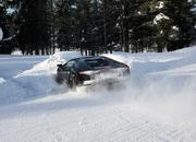 Car crash: Lamborghini Aventador lost it on the snow - image 440512
