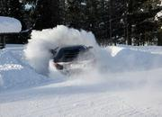 Car crash: Lamborghini Aventador lost it on the snow - image 440514