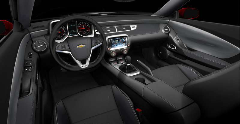 2013 Chevrolet Camaro 1LE High Resolution Interior Computer Renderings and Photoshop - image 445363