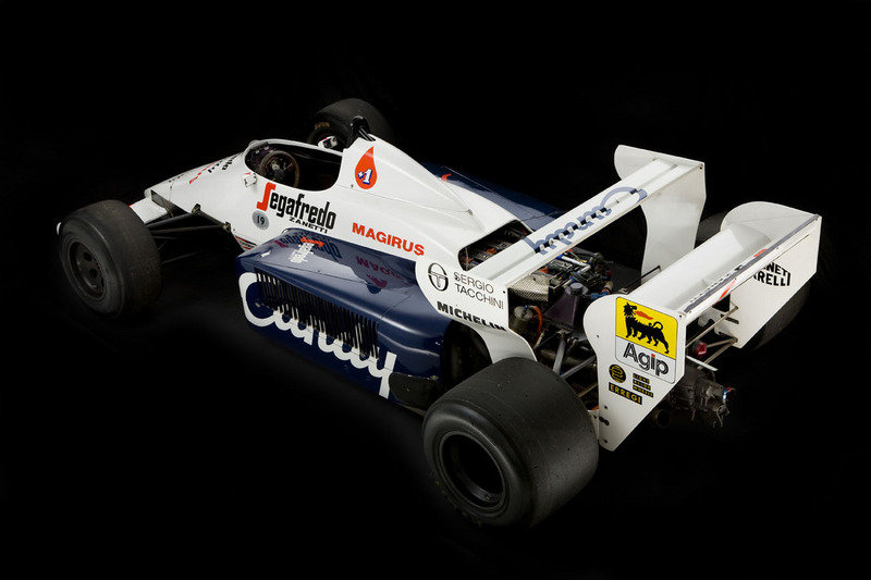 Toleman TG184-2: Ayrton Senna's first F1 car High Resolution Exterior - image 445273