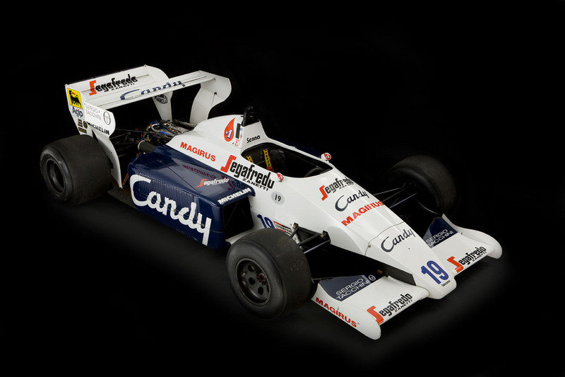 Toleman TG184-2: Ayrton Senna's first F1 car High Resolution Exterior - image 445271