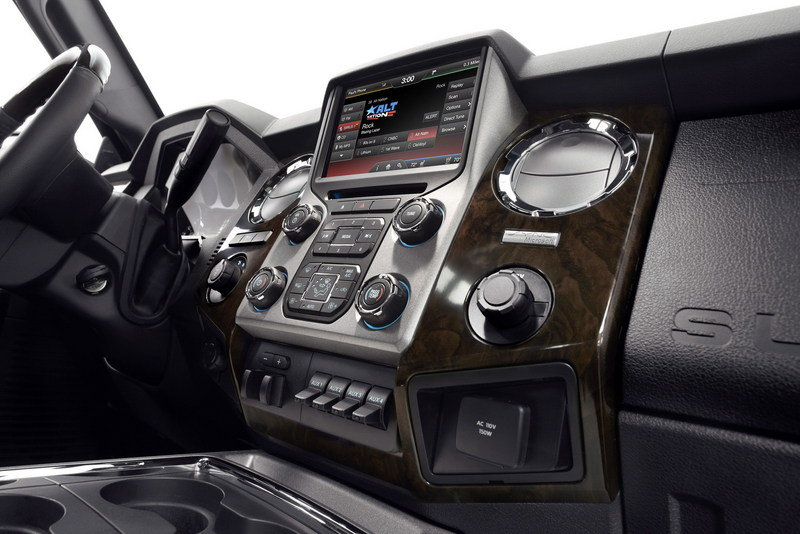2013 Ford F-Series Super Duty Platinum Interior - image 442475