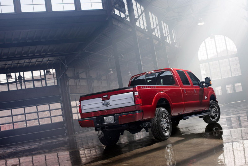 2013 Ford F-Series Super Duty Platinum High Resolution Exterior - image 442471