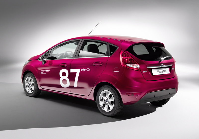 2013 Ford Fiesta ECOnetic High Resolution Exterior - image 445536