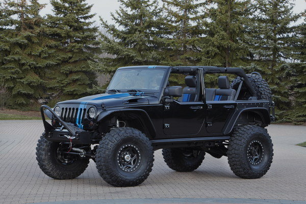 Jeep Wrangler V8 2017 >> 2012 Jeep Wrangler Apache By Mopar | car review @ Top Speed