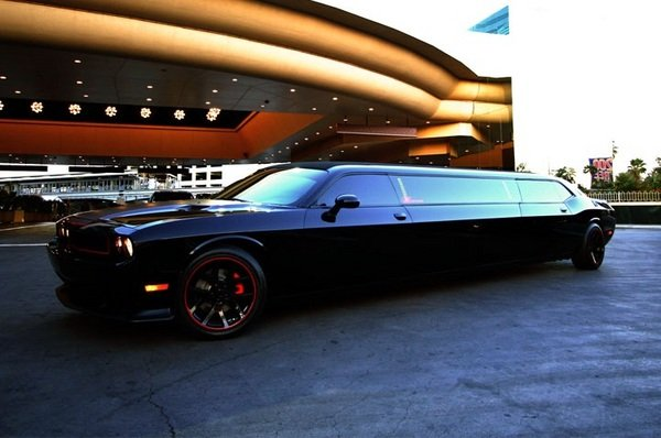 Dodge Challenger Srt8 Limo Luxury Meets Muscle News Top