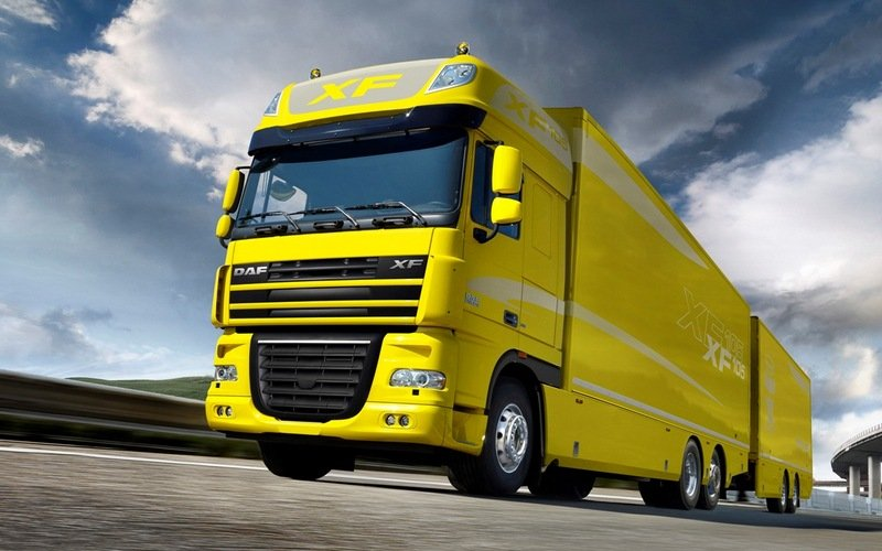 2009 DAF XF105 High Resolution Exterior - image 442142
