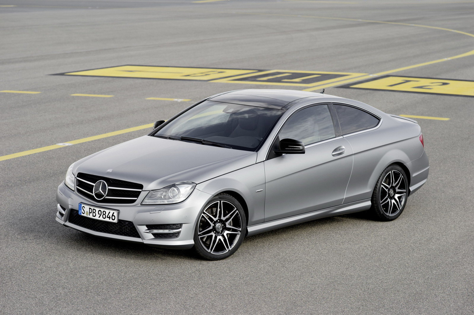 2013 Mercedes C-Class Coupe Sport | car review @ Top Speed