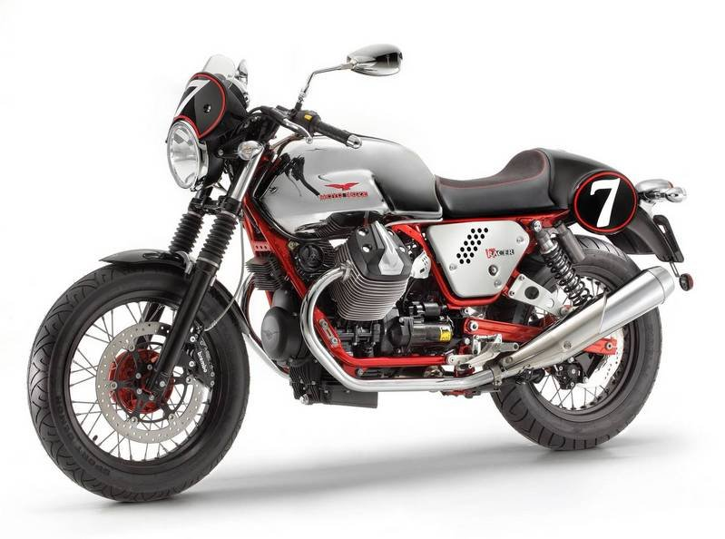 2012 Moto Guzzi V7 Racer High Resolution Exterior - image 444705