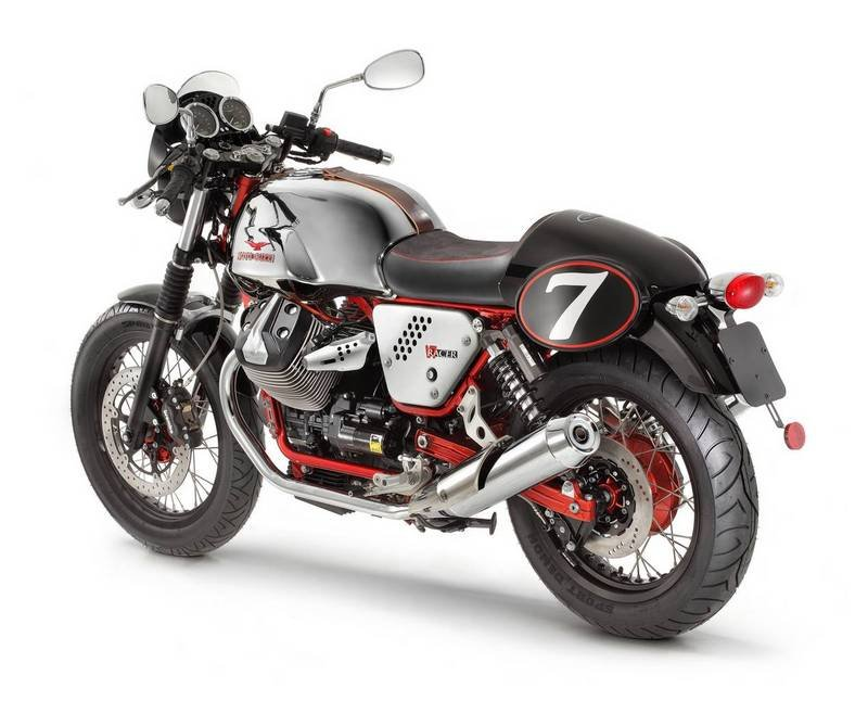 2012 Moto Guzzi V7 Racer High Resolution Exterior - image 444706
