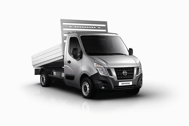Nissan revealed the new NV400 chassis cab