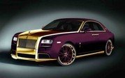 "Rolls-Royce Ghost ""Paris Purple"" by Fenice Milano"