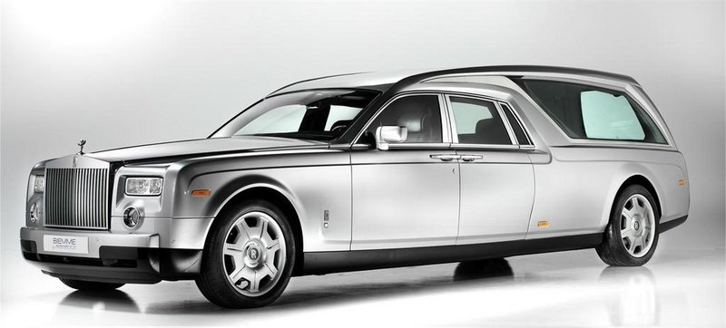 Rolls Royce Phantom Hearse: Now That's Making a Statement