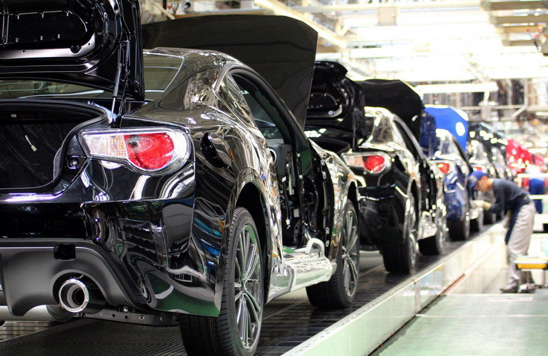 Production of the Subaru BRZ and Toyota GT-86 begins in Japan