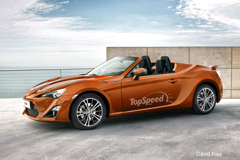 2014 Toyota GT-86 Convertible Exterior Computer Renderings and Photoshop - image 440933