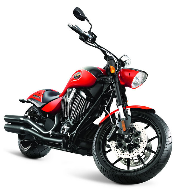 2012 Victory Hammer S | motorcycle review @ Top Speed