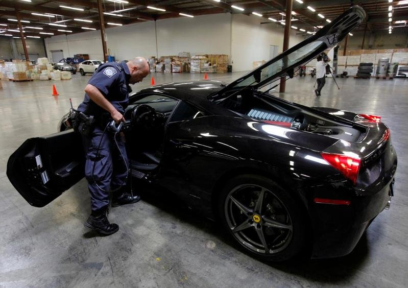 $1.5 Million in Luxury Cars Seized by U.S. Customs