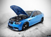 BMW M3 Estoril Blue by European Auto Source