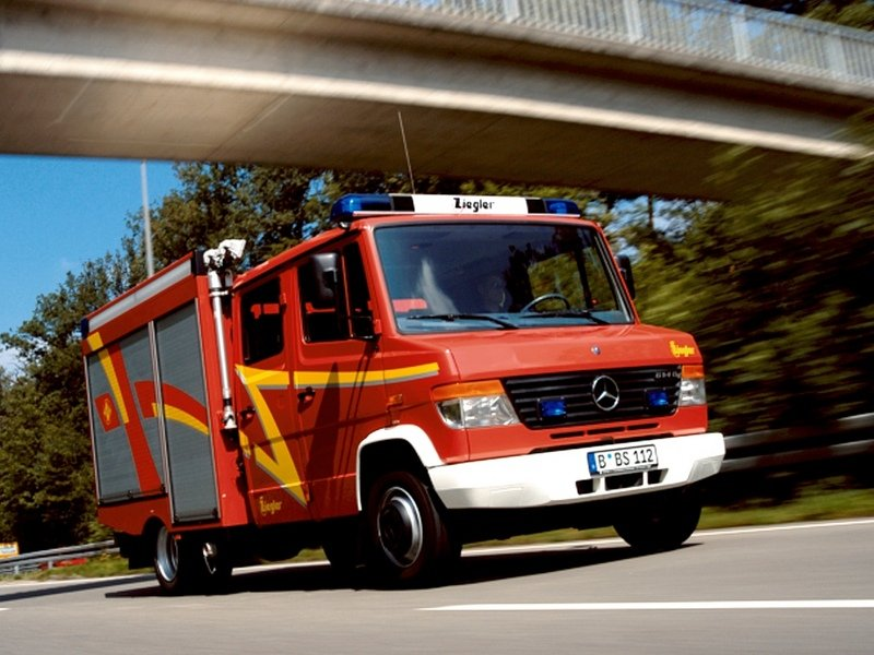 2008 Mercedes Vario chassis cab
