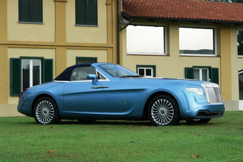 2008 Rolls Royce Phantom Drophead Convertible Hyperion by Pininfarina High Resolution Exterior - image 450431