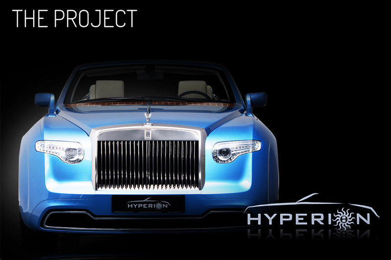2008 Rolls Royce Phantom Drophead Convertible Hyperion by Pininfarina Exterior - image 450437