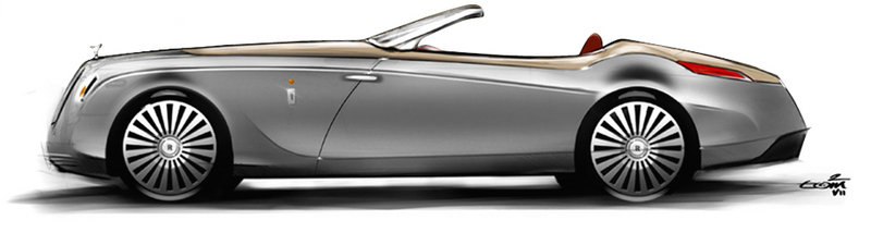 2008 Rolls Royce Phantom Drophead Convertible Hyperion by Pininfarina Exterior - image 450439