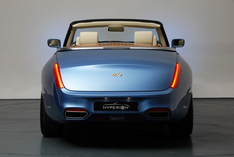 2008 Rolls Royce Phantom Drophead Convertible Hyperion by Pininfarina High Resolution Exterior - image 450422