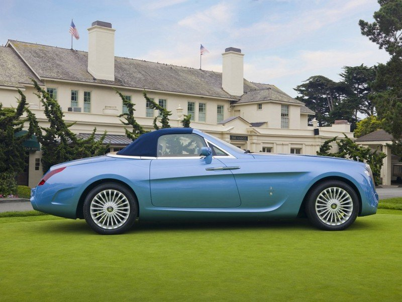 2008 Rolls Royce Phantom Drophead Convertible Hyperion by Pininfarina Exterior - image 450423