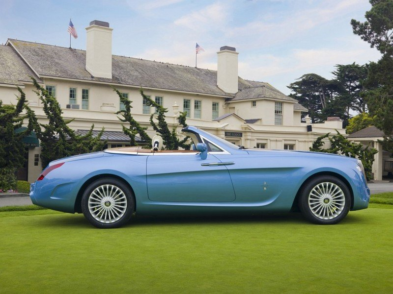 2008 Rolls Royce Phantom Drophead Convertible Hyperion by Pininfarina Exterior - image 450424