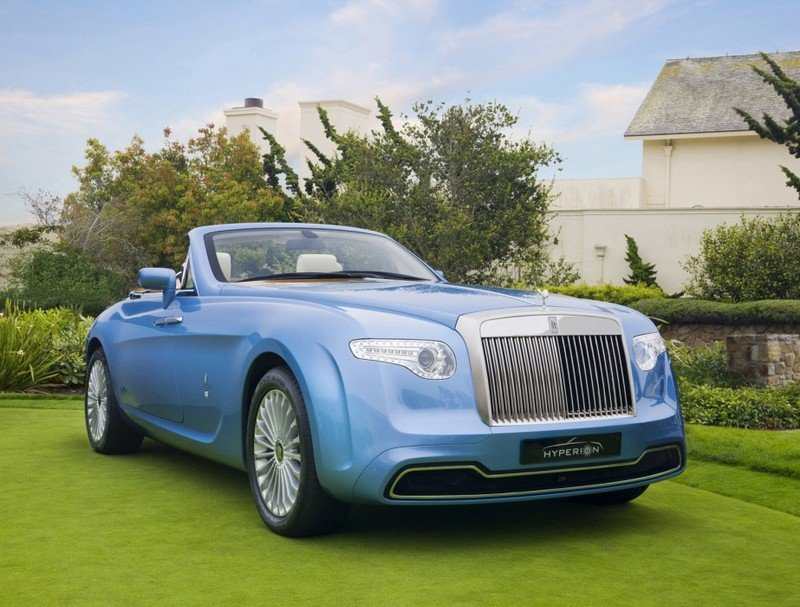 2008 Rolls Royce Phantom Drophead Convertible Hyperion by Pininfarina Exterior - image 450425