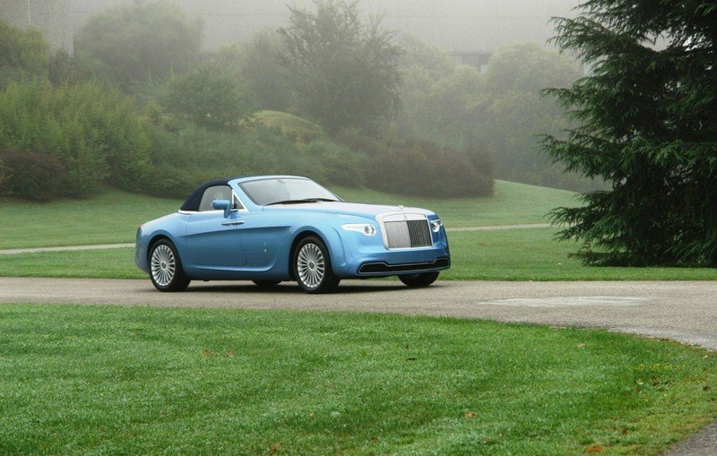 2008 Rolls Royce Phantom Drophead Convertible Hyperion by Pininfarina High Resolution Exterior - image 450427