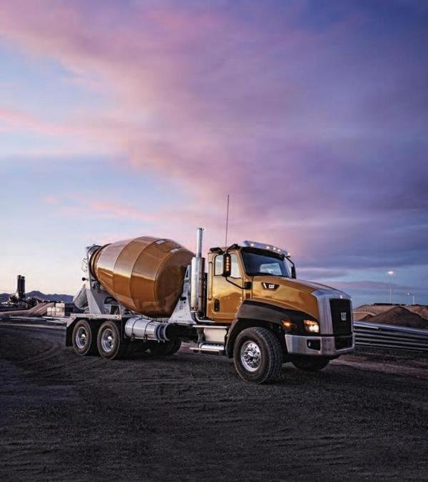 4. Cat CT 660 Concrete Mixer
