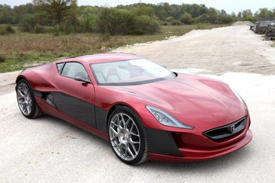 Rimac Concept One at Top Marques Monaco