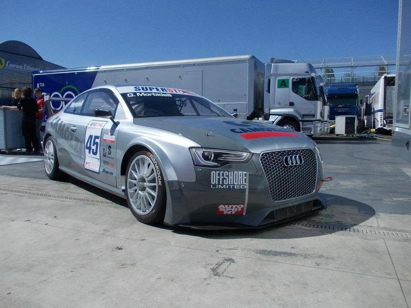 2012 Audi RS5 Superstars Series Race Car