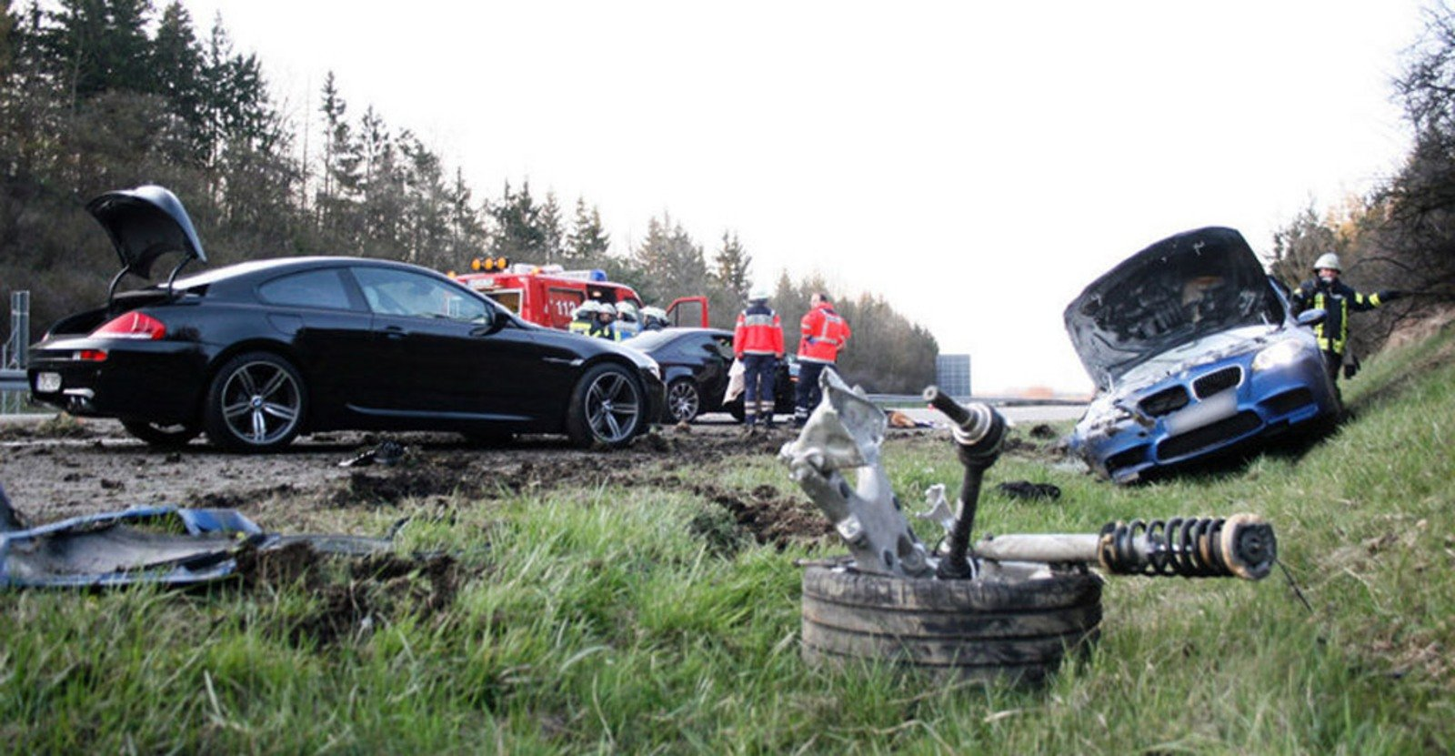 Bmw M5 News And Reviews Top Speed 2013 Fuse Box 2012 Wrecked Following Horrific Autobahn Crash