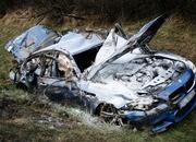 2012 BMW M5 wrecked following horrific autobahn crash - image 450803