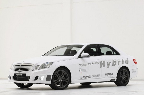 Mercedes E-Class Hybrid by Brabus