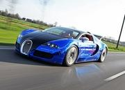 Bugatti Veyron Sang Gemballa Blue by Gemballa Racing and Cam Shaft
