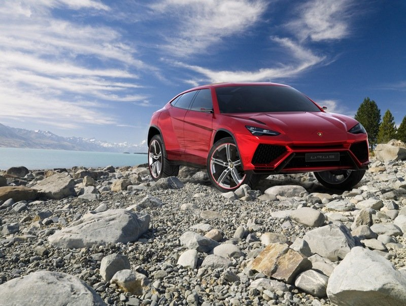 The Urus may be the First-Ever Turbocharged Lamborghini