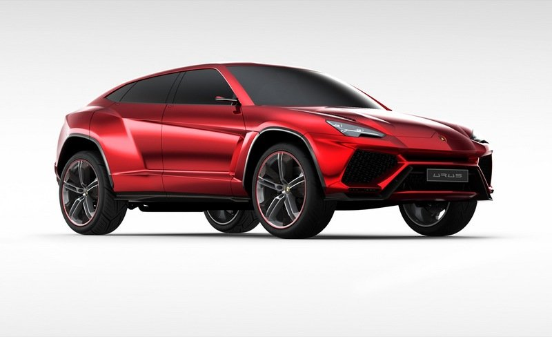 2012 Lamborghini Urus Exterior Computer Renderings and Photoshop - image 451035