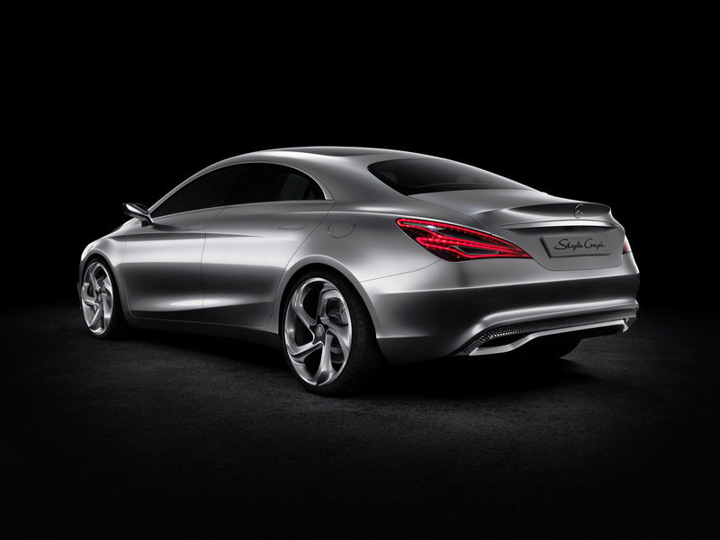 2012 Mercedes-Benz Concept Style Coupe (CLC) High Resolution Exterior - image 450462